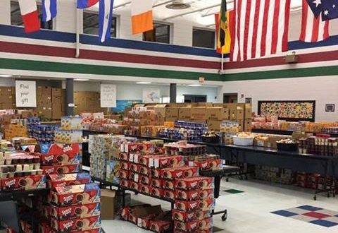 view of food ready to pack for children's 'Power Pacs""