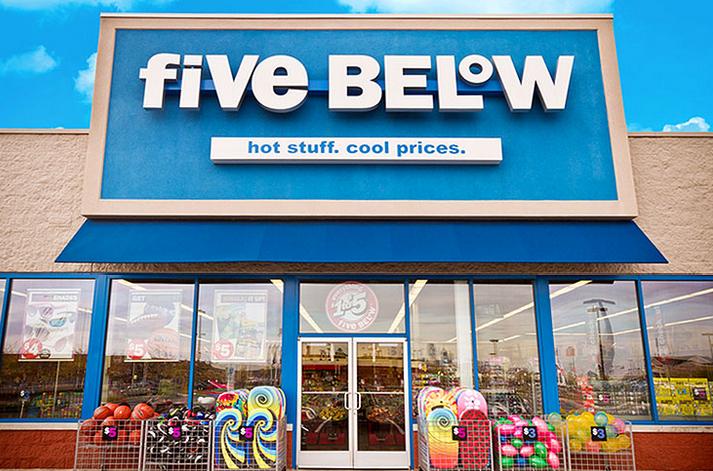 Five Below Christmas Fundraiser