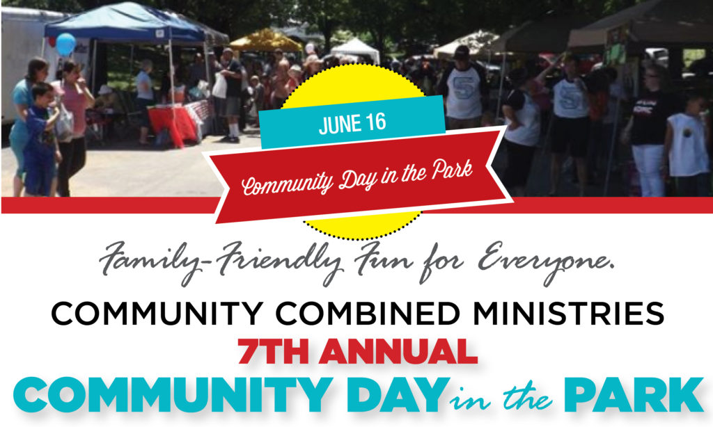 7th Annual Community Day in the Park – June 16