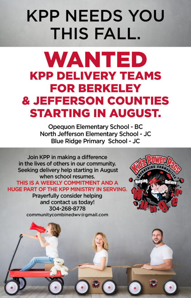 Join a KPP Delivery Team this Fall