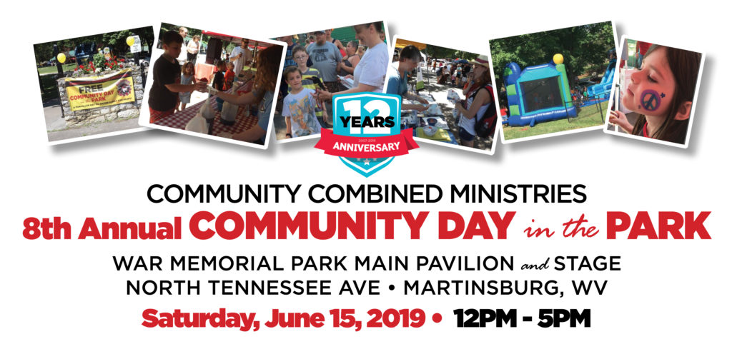 8th Annual Community Day in the Park – June 15